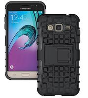 Бронированный чехол (бампер) Samsung Galaxy J3 2016 J320A J320F J320H J320M J320P J320Y J3109+ПЛЕНКА В ПОДАРОК