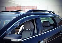 Дефлекторы окон (ветровики) Lexus RX 350, 400 2009-2015 С Хром молдингом AVTM