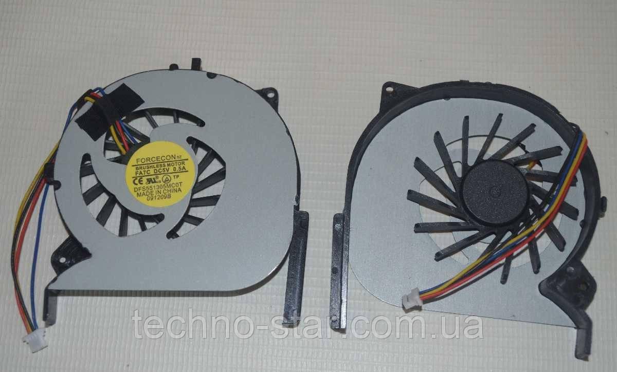 Вентилятор (кулер) FORCECON DFS551305MC0T для Sony EG-111T EG-112T EG-212T VPCEG-211T CPU FAN