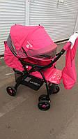 Прогулочная коляска Baciuzzi B14 с перекидной ручкой.сумка+дождевик, фото 1