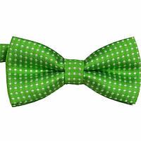 Галстук/бабочка для мальчиков, зеленая