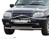 Двойной ус для Chevrolet Niva Bertone от ИМ Автообвес (п.к. ТТК)