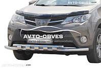 Защита бампера Toyota Rav4 2013 - 2016