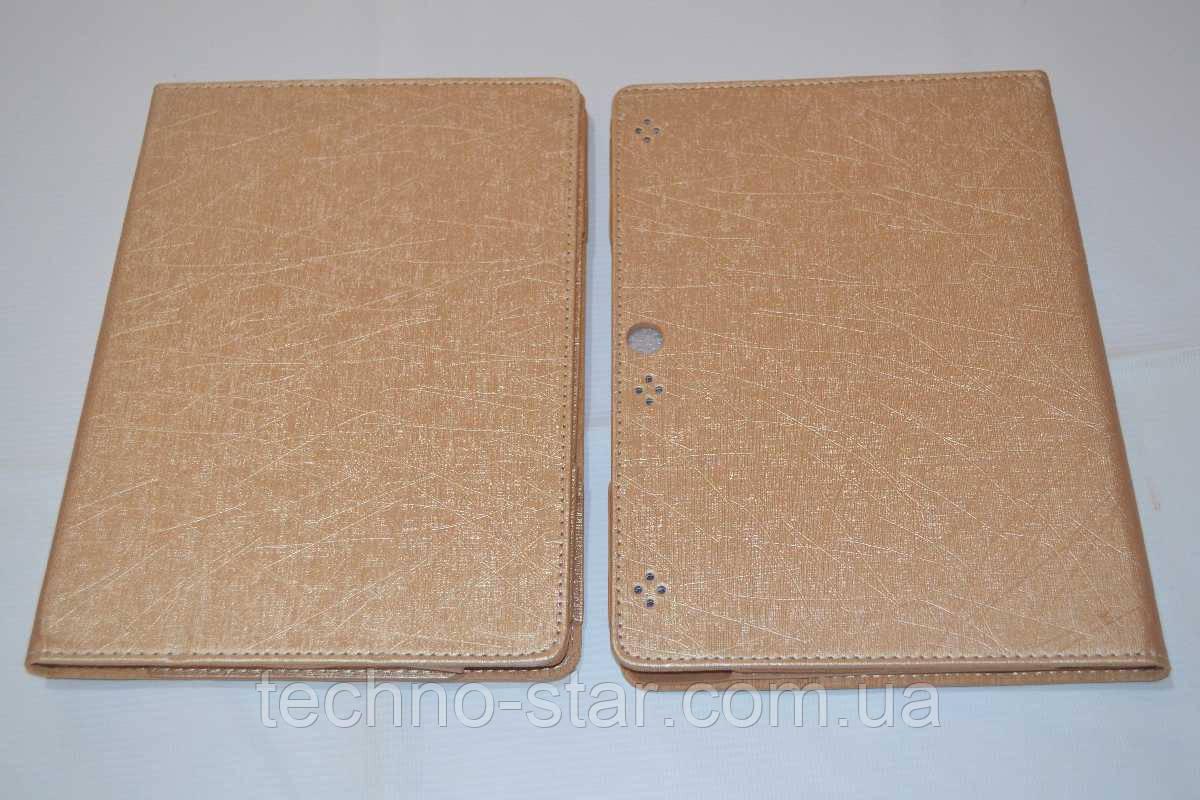 Чехол-книжка для Lenovo Tab 2 A10-70F | A10-70L (золотой цвет)
