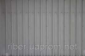 Профнастил ПС 8 мм серый