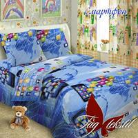 Детские комплекты постельного белья (полуторные)