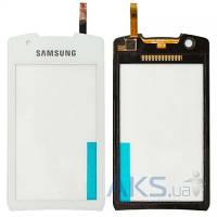 Сенсор (тачскрин) для Samsung Monte S5620 Original White