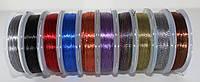Люрекс Аллюр, темный микс из 10 цветов
