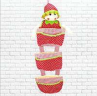 Детский карман с куклой