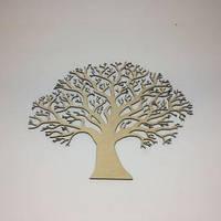 Декоративное дерево для декупажа. Размер 30х34 см.