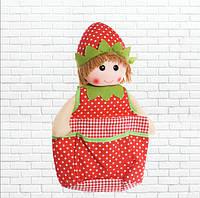 Детская игрушка,Коврик-кукла,красная
