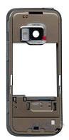 Средняя часть корпуса Nokia N78 Silver