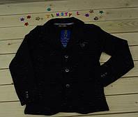 Стильный пиджак   для мальчика рост 146 см
