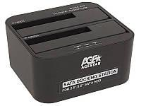 """AgeStar Док-станция 3UBT6-6G для 2.5""""/3.5"""" SATA HDD или SSD USB3.0 Black"""