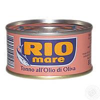RIO MARE (тунец в оливковом масле) 80г.