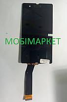 Модуль (дисплей+сенсор)  Sony C6602 L36h Xperia Z, C6603 L36i Xperia Z, C6606 L36 чорний, фото 2