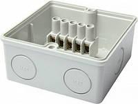 Коробка распределительная e.industrial.db.906.k, 139х119х70 с клеммной колодкой, фото 1