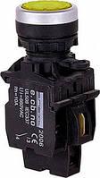 Кнопка-индикатор e.pb.la.stand.32.td.11.yellow, желтая, фото 1