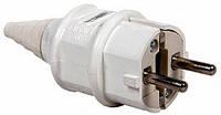 Силовая вилка переносная e.plug.pro.2.16, 2п., 220В (012), фото 1