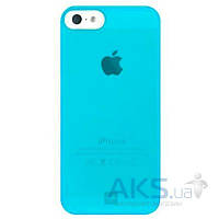 Чехол Bling My Thing Minimalist Tinted Apple iPhone 5, Apple iPhone 5S, Apple iPhone SE Neon Blue (BMT-MI5-TN-BL-NON)