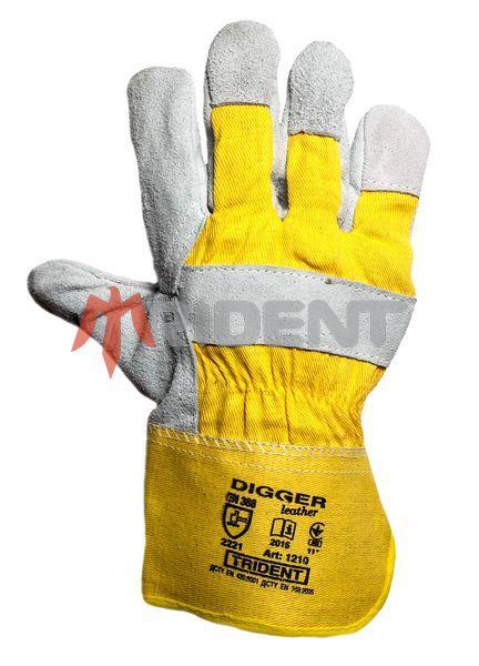 """Комбинированные перчатки """"DIGGER""""  TRIDENT"""