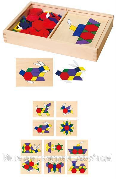 """Игрушка Viga Toys """"Мозаика"""" (50029) - BabyAngel в Полтаве"""