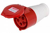 Силовая розетка переносная e.socket.pro.5.16, 5п., 380В, 16А (215), фото 1