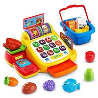 Детская касса с набором продуктов VTech Ring and Learn Cash Register, фото 1