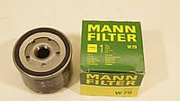 Фильтр масла новый MANN-FILTER W79 Renault Kangoo