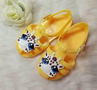 Детские силиконовые босоножки, фото 1