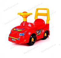 Детский автомобиль для прогулок (толокар) красный