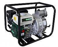 Мотопомпа Iron Angel  WPGD 90 (для грязной воды, 75 м.куб/час) Бесплатная доставка