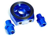 Переходник под масляный фильтр для датчика температуры и давления масла MG 006