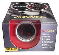 Индикатор диодный 4в1 DGT 4402 (ручной тормоз, ремень безопасности, двери, доп.свет) 52мм