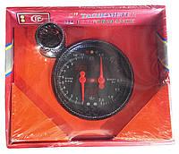 Тахометр + t воды + t масла + вольтметр + давление масла + Boost стрелочный LED7788 (диаметр 120мм)