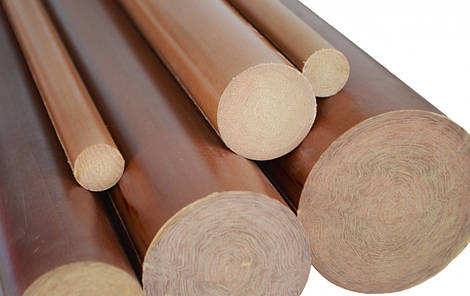 Текстолит стержень д.60мм ГОСТ 5385-74