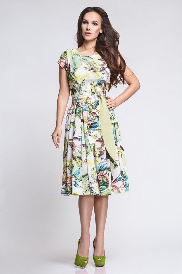 женских платьев модные