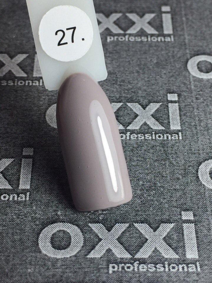 Гель-лак Oxxi Professional № 27 (Серо-голубой), 8 мл