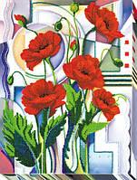 Набор для вышивки бисером на холсте «Цветы Морфея»