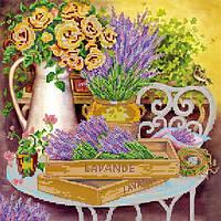 Схема для вышивки бисером «Цвет лаванды»