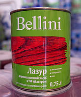 Лазурь алкидная BELLINI безцветный 0,75 л (2000000107653)