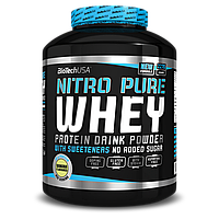 Протеин Nitro Pure  Whey Gold 0.454kg BiotechUSA сливки-банан