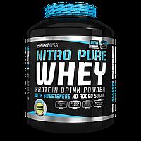 Протеин Nitro Pure  Whey Gold 0.454kg BiotechUSA ореховый крем