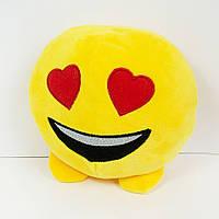 Мягкая игрушка смайлик emoji любимчик 18см
