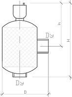 Угловой сепаратор воздуха KVANT DisAir