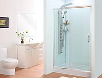 Душевая дверь в нишу SunStar SS-506, 1400x1800 мм, прозрачное стекло