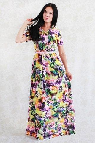 открытое женское платье