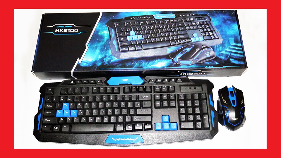 UKC HK-8100 Bluetooth Клавиатура + мышь