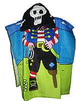 Пляжное полотенце-пончо для мальчика, Crivit, 60х120 см, арт. Л-028
