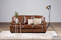 Кожаный диван Colorado, не раскладной диван, мягкий диван, мебель из кожи, диван